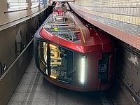 indoor, floor, train, vehicle