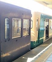 train, platform, station, subway, transport, vehicle, land vehicle, public transport, door, stopped, open, silver