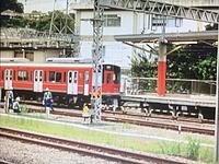 track, train, outdoor, railroad, rail, locomotive, land vehicle, transport, vehicle, station, traveling