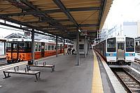 train, track, station, platform, land vehicle, vehicle, outdoor, tram, public transport, pulling