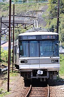 outdoor, ground, transport, land vehicle, vehicle, train, traveling, tram, tree, day