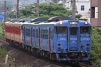 train, outdoor, track, transport, land vehicle, rail, vehicle, locomotive, blue, station, traveling, railroad, engine, several