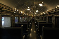 ceiling, indoor, train, station, subway, vehicle