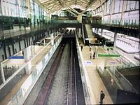 train, track, indoor, station, marketplace, steel