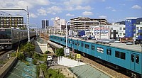 sky, vehicle, railroad, train
