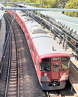 track, train, outdoor, rail, land vehicle, vehicle, station, transport, locomotive, traveling, railroad