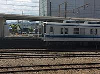 train, track, ground, railroad, rail, outdoor, land vehicle, vehicle, station, transport, locomotive, sky, traveling