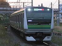 outdoor, grass, railroad, land vehicle, station, vehicle, rail, green, transport, public transport, railway, train, passenger, rolling stock