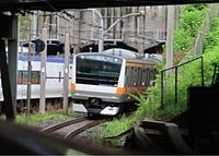 train, land vehicle, vehicle, railroad, rail